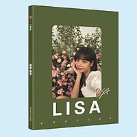 Photobook Lisa Blackpink nền xanh lá viền chữ nhật góc tròn A4 album ảnh poster tập ảnh