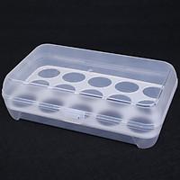 Hộp Đựng, Bảo Quản Trứng Dùng Trong Tủ Lạnh (Đựng 15 Quả Trứng)