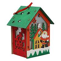 Quà Tặng Nhà Gỗ Trang Trí Giáng Sinh - Ông Già Noel