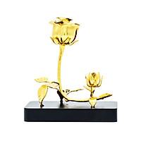 Quà tặng Sếp nữ cao cấp: Bông hoa hồng doanh nhân mạ vàng
