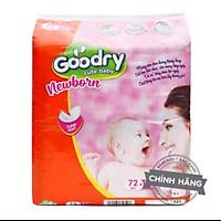 Lót Goodry sơ sinh 72 miếng