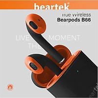Tai nghe bluetooth không dây BEARTEK Bearbuds B66 True Wireless thiết kế trẻ trung, cá tính – Định vị - Cảm ứng – Thời gian sử dụng lên tới 4h -  Hàng nhập khẩu