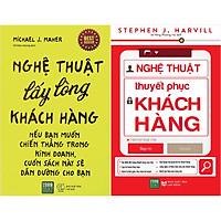 Combo Nghệ Thuật Lấy Lòng Khách Hàng + Nghệ Thuật Thuyết Phục Khách Hàng ( Tặng Kèm Bookmark Tuyệt Đẹp )