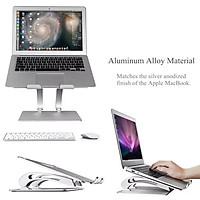 Giá đỡ cho Laptop, Macbook có thể điều chỉnh độ cao - Phiên bản mới có quạt tản nhiệt