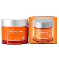 Kem dưỡng làm sáng và tái tạo da ban ngày Probiotic + C Renewal Cream Andalou Naturals 50g