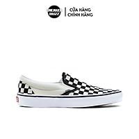 Giày Slip On Unisex Vans VN000EYEBWW - Black/White