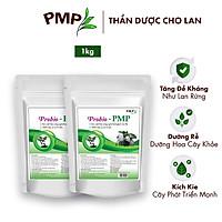 Combo Siêu Phân Bón Cho Lan, Cây Cảnh, Bon Sai - Phân Hữu Cơ Vi Sinh Probio PMP (2 Túi x 500g)