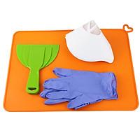 3D Printer Resin Cleaning Kit 2/4/6 Inch Removal Shovel Paper Funnel Slicone Slap Mat Glove for DLP SLA LCD 3D Printer