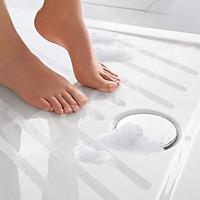 Bộ 3 mét Băng keo chống trượt 220 3M Safety-Walk, chịu nước tốt, màu trắng trong, size 5cm X 3m
