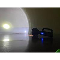 Đèn pin xách tay siêu sáng rọi xa, chống thấm nước, 3 chế độ sáng, pin sạc nhiều lần