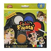 Màu vẽ mặt nạ dạng kem Amos Flesta CF3P6-C (Hộp 6 màu)