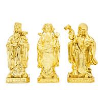 Tượng Tam Đa mạ vàng 24K - Quà tặng dịp lễ tết