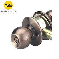 Khóa tay nắm tròn Yale VCA5242 US11 cho cửa WC