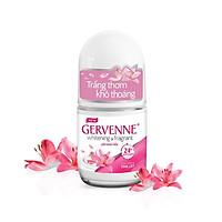 Lăn khử mùi trắng da Gervenne Pink Lily 25ml
