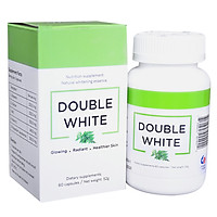 [ Double White ] Viên uống trắng da, chống nắng, giảm nám từ Mỹ