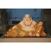 Tượng Phật Di lặc thỏi vàng composite
