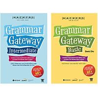 Combo 2 Cuốn: Hackers Grammar Gateway Basic + Intermediate