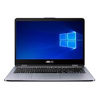 Laptop Asus VivoBook Flip 14 TP410UF-EC029T Core i5-8250U/Win10 (14 inch) - Grey - Hàng Chính Hãng