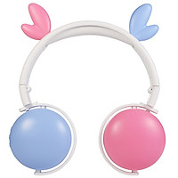 Cute Cartoon Wireless Bluetooth Headset For Girl Kids Headphone With Mic Pc Mobile Phone Music Gaming Mp3 Cat