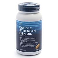 Thực Phẩm Chức Năng Hỗ trợ giúp giảm nguy cơ mắc bệnh tim mạch GNC Double Strength Fish Oil (90 viên/Hộp)