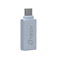 Đầu chuyển đổi USB Type C sang USB 3.0 Dtech T0001 ( Chính Hãng )