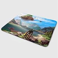 Miếng lót chuột mẫu Anime Hồ Núi (20x24 cm) - Hàng Chính Hãng