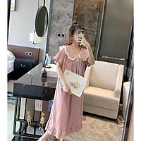 Đầm Suông Váy Xuông Mặc Nhà Mặc Ngủ Mặc Dạo Phố Siêu Xinh VT02
