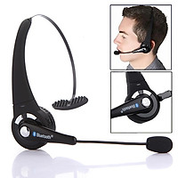 Bluetooth Wireless Headphone Headset Microphone Mic for Gaming PS3 Cellphone