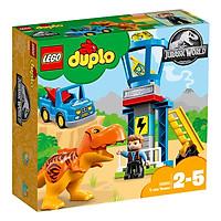 Bộ Lắp Ráp Trạm Quan Sát Khủng Long T.Rex LEGO JURASSIC 10880 (22 chi tiết)
