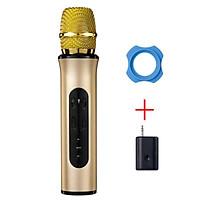 Micro Karaoke Kết Nối Bluetooth Nhanh Chóng Cầm Nhẹ Tay Hút Âm Tốt PKCB - Hàng Chính Hãng