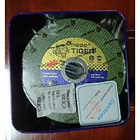 Đá cắt Tiger Xanh 125mm( Hộp kim loại 50 viên)