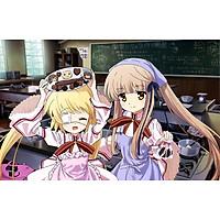 Poster A3 dán tường Anime, decal 30x42 trang trí có keo Rewrite Wallpapers 2
