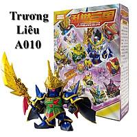 Bộ Ghép hình tuổi thơ Gundam Trương Liêu - Đồ chơi lắp ráp sáng tạo Tam Quốc A010