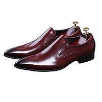 Giày tây nam công sở da bò dáng lười M201N mẫu mới nhất