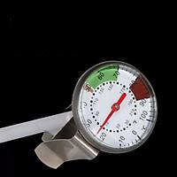 Nhiệt kế - dụng cụ đo nhiệt độ - màu trắng - chất liệu kim loại - kích thước 24 cm