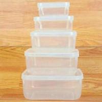 Bộ 5 hộp nhựa đựng thực phẩm cao cấp Song Long