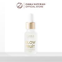 Serum (Tinh Chất) Vitamin C Glow Fruit Dưỡng Trắng Da, Mờ Thâm, Căng Bóng Và Chống Lão Hóa Da 20g Zakka