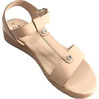 Sandal nữ Quai đơn DTW009388KEM