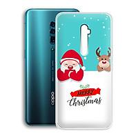 Ốp lưng dẻo cho điện thoại Oppo Reno 10X Zoom Edition (6.6inch) - 01230 7937 XMAS10 - Merry Christmas - Hàng Chính Hãng