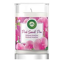 Ly nến thơm tinh dầu Air Wick Pink Sweet Pea 310g XXL PTT06524 - hoa đậu Hà Lan