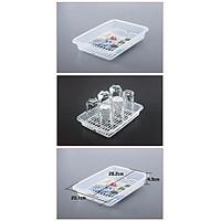 Khay để úp cốc chén nhựa cao cấp tiện dụng - Hàng nội địa Nhật