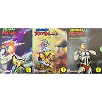 Siêu Nhân Việt Nam - Tác phẩm truyện tranh thuần Việt của tác giả Hùng Lân - Box 1.2.3 từ tập 1-15)