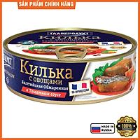 Cá trích baltic chiên sốt cà hiệu Glavproduct, 230 g