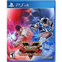 Đĩa Game PS4 Street Fighter Champion - Hàng Nhập Khẩu