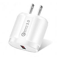 Củ Sạc Nhanh Quick Charge QC 3.0 (1 Đầu USB) Dùng Cho Thiết Bị Iphone/ Samsung/ Android - DT045