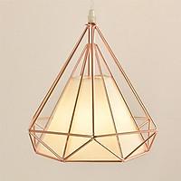 Đèn thả trang trí kim cương xi vàng hồng cao cấp bao gồm bóng LED chuyên dụng