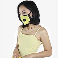 Khẩu trang thời trang cao cấp Soteria Llluminating ST177 - Khẩu trang vải than hoạt tính [size S,M,L] Van đen
