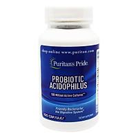 Thực Phẩm Chức Năng - Viên Uống Bổ Sung Lợi Khuẩn Puritan'S Pride Probiotic Acidophilus (100 Viên)
