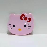Gương kèm lược đầu Hello Kitty