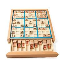 Bộ Sudoku Gỗ Tự Nhiên Rèn Luyện Trí Não Cho Bé -  MONTESSORI TOYS